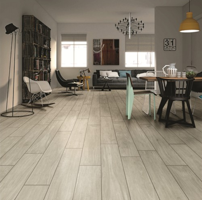 How to choose floor tiles for living room?