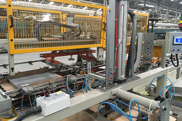 Fully Automatic Packing Box Palletizing