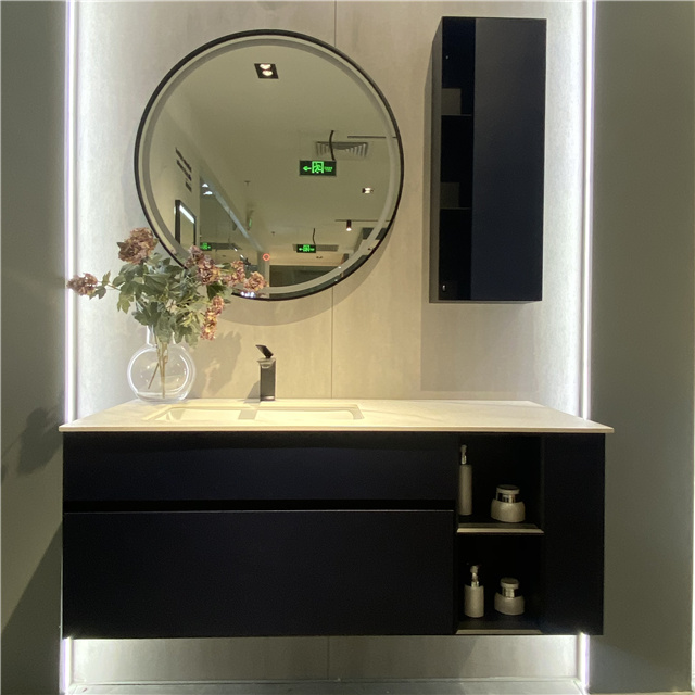 Floating Wooden Vanity Unit | D-6028