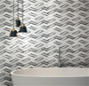 3D Glass Mosaic Tiles |Musivo|Cortona