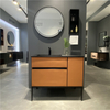 Orange Bathroom Vanity | D-6050