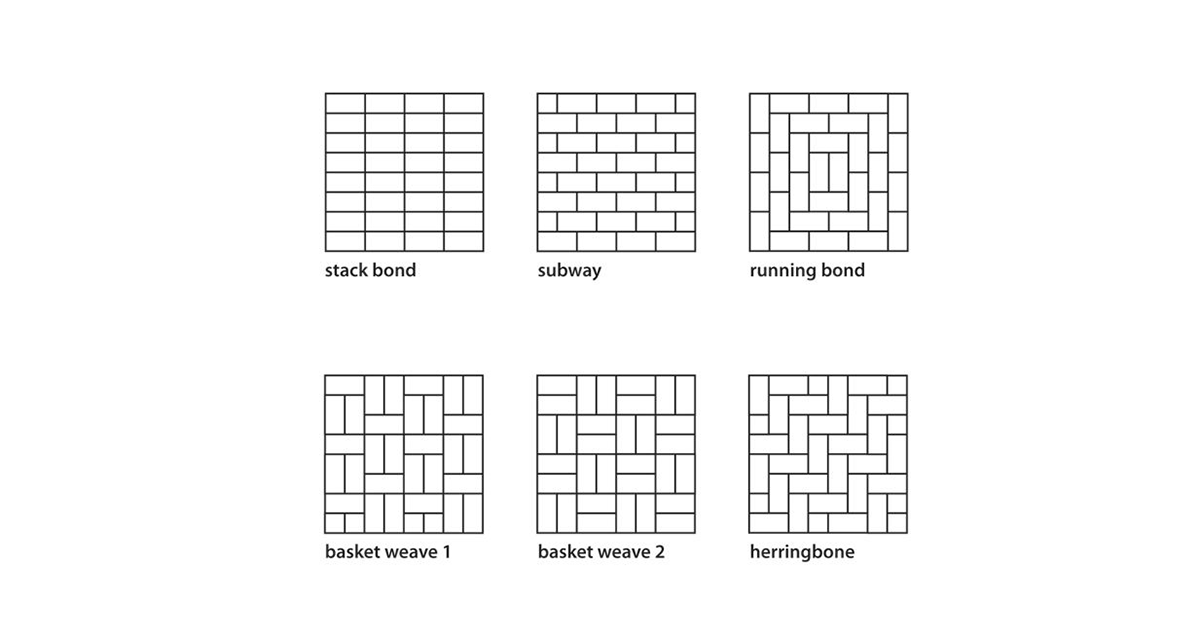 Ceramic Tile Patterns & Layouts